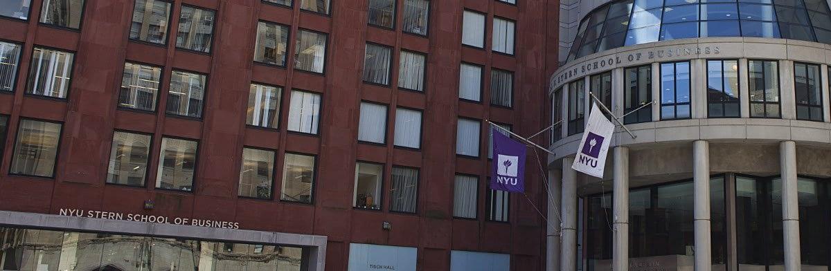 NYU Stern 2017-2018 MBA Application