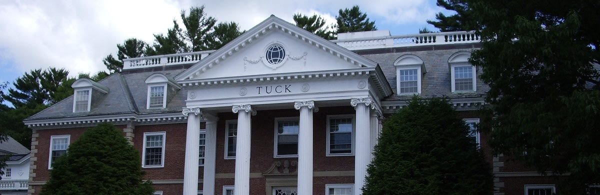 Dartmouth Tuck MBA deadlines