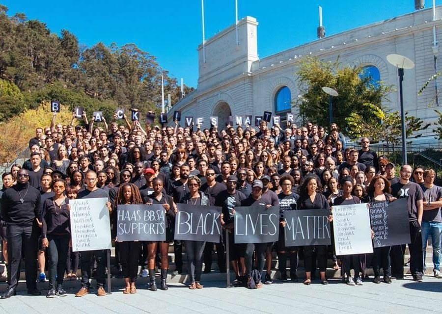 UC Berkeley Haas MBA students turn out en masse
