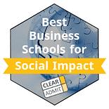 Best Business Schools Social Impact