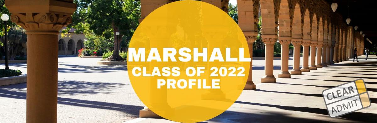 Usc 2022 Calendar.Usc Marshall Mba Class Of 2022 Profile Clear Admit