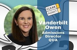 vanderbilt owen admissions director