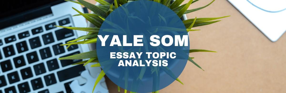 yale mba essays