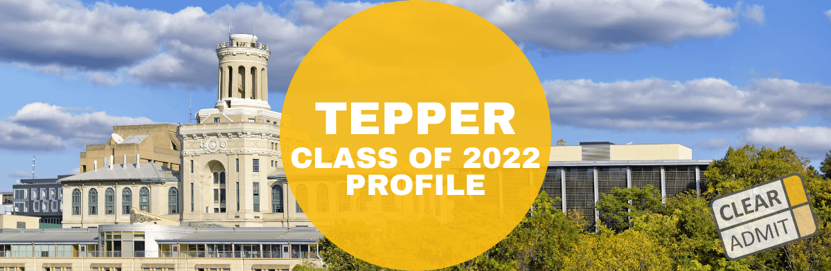 tepper mba class profile
