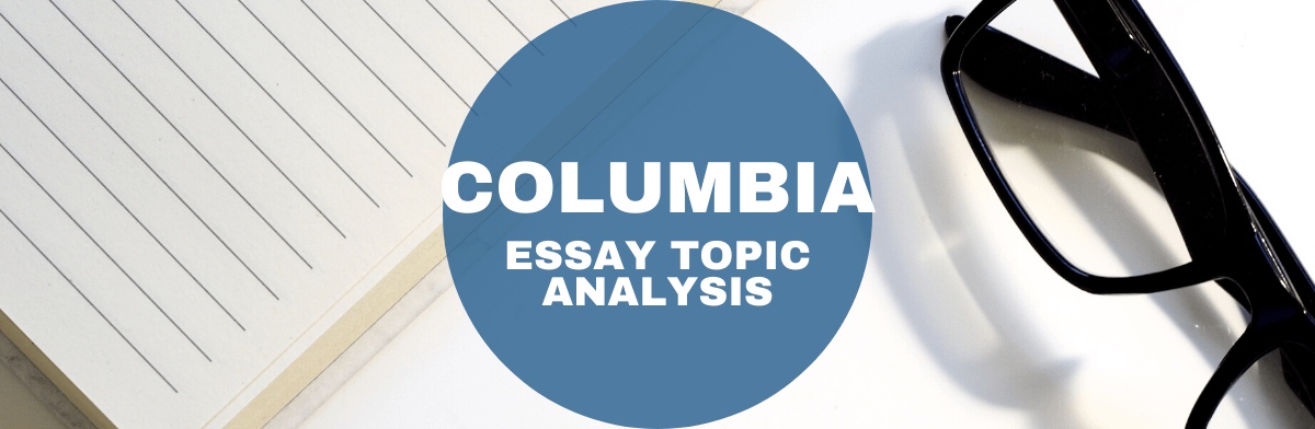 Columbia mba admissions essay questions