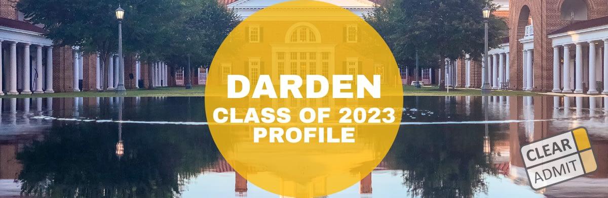 Darden MBA Class of 2023