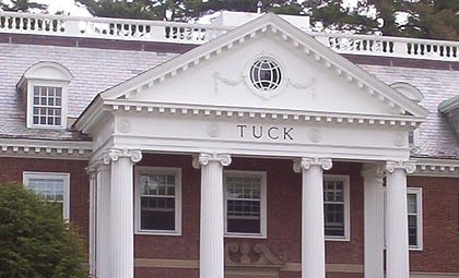 Dartmouth / Tuck MBA Interview Questions & Report: Round 2 / 2nd year Student / On-Campus