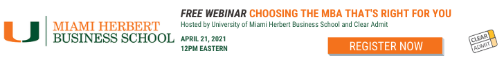 Choosing the MBA That's Right for You – Free Webinar