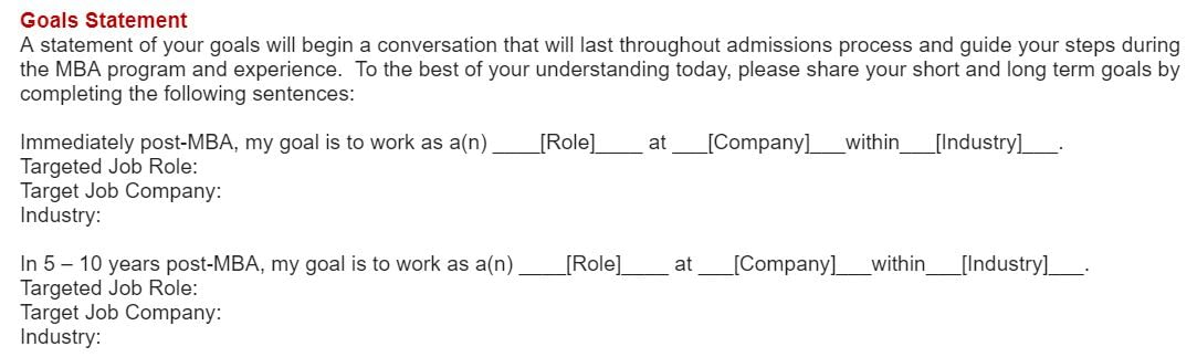 Johnson application essays