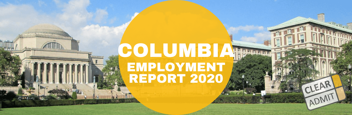 columbia mba employment report