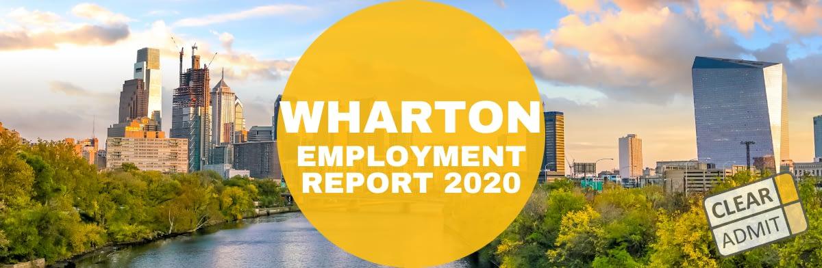 wharton mba employment report