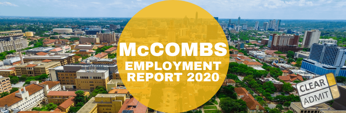 mccombs mba employment report