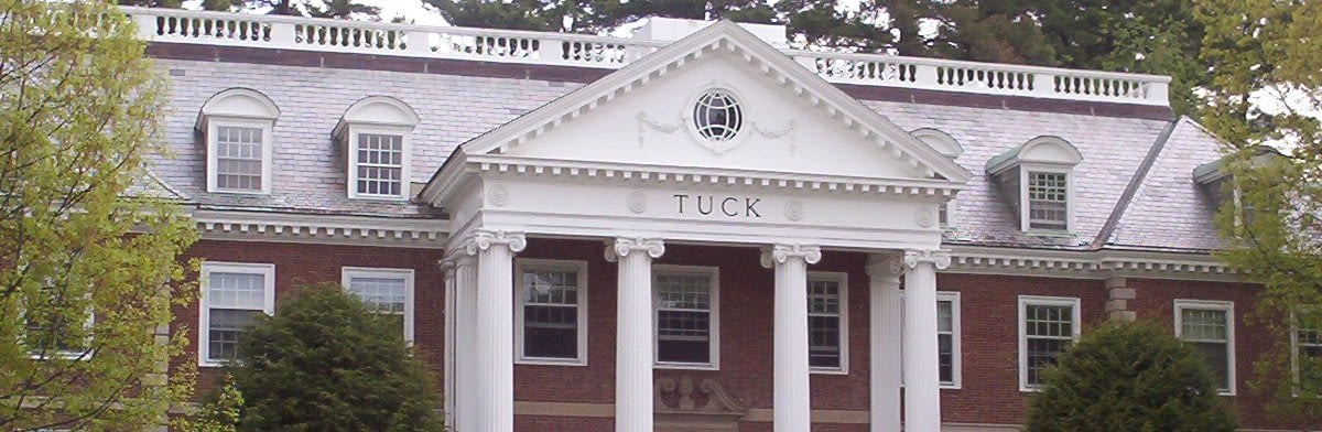 Dartmouth / Tuck MBA essay topic analysis