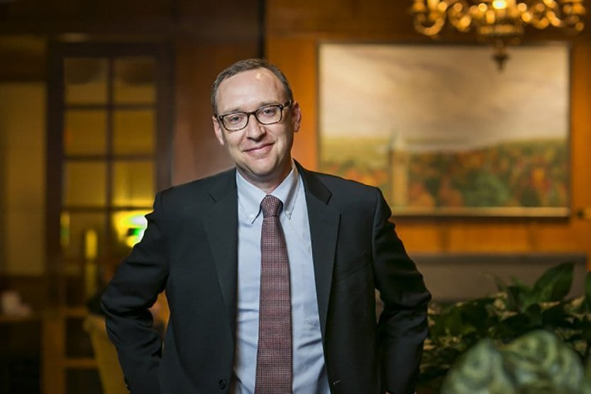 new cornell college of business dean