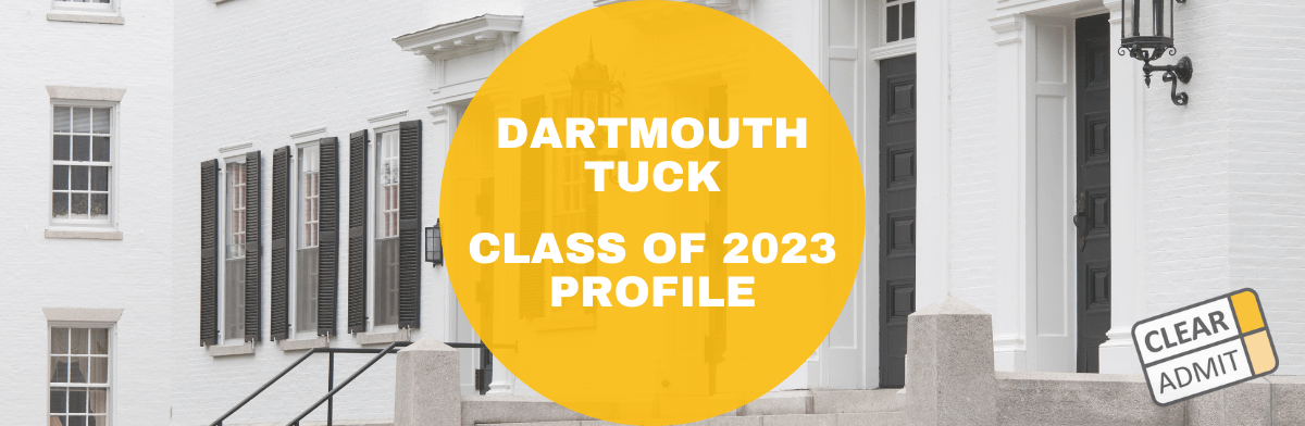 tuck class of 2023
