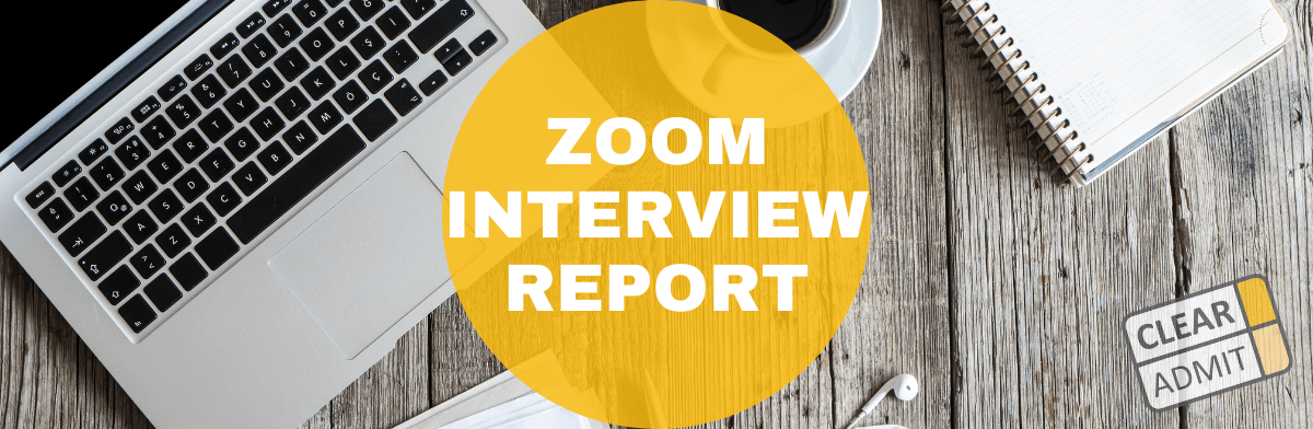 Chicago Booth Interview Questions & Report: Round 2 / Second-Year Student / Zoom