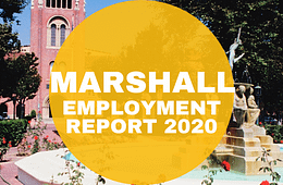 usc mba employment report