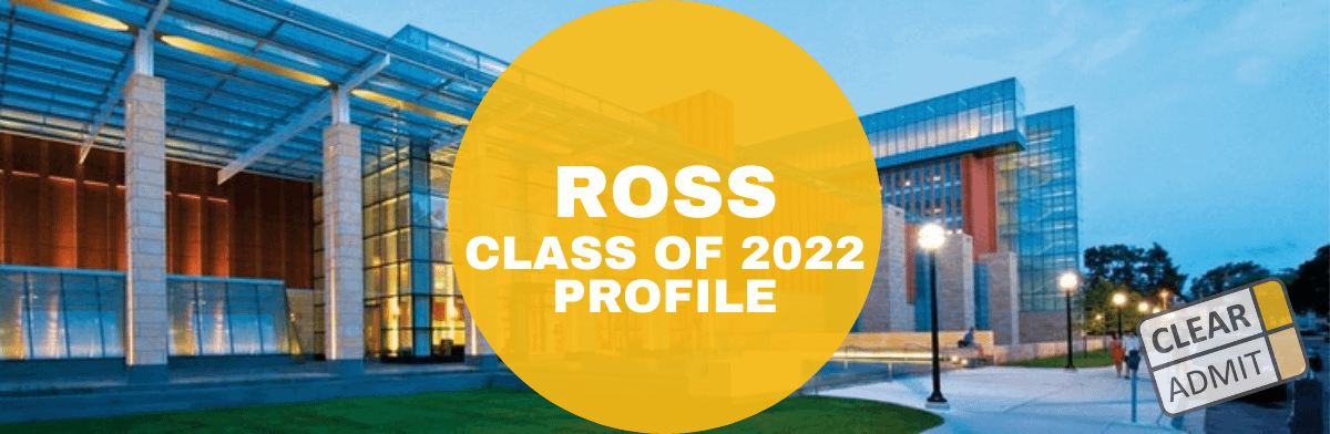 ross mba class profile