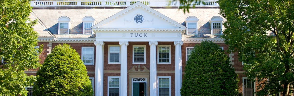 mba admissions brief dartmouth tuck